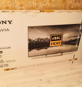 Новый телевизор Sony 65 KD-65XE7096