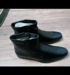 Зимние,новые ботинки