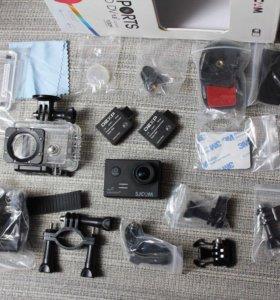 Экшн камера + 2 АКБ. Аналог GoPro