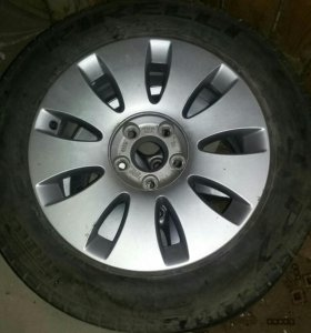Новое колесо на ауди