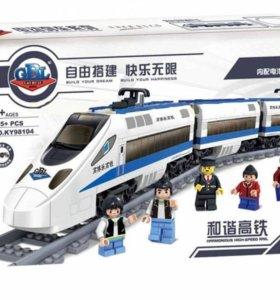 Конструктор KAZI KY98104 Пассажирский поезд| 60051