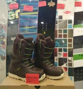 Ботинки для сноуборда Burton новые
