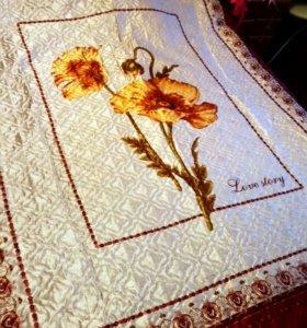 Плед на кровать размер 190/210