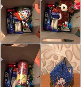 Новогодние конфетные наборы с сюрпризом !