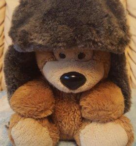 Шапка зимняя- шлем.