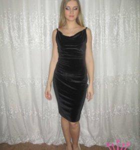 Платье новое бархат