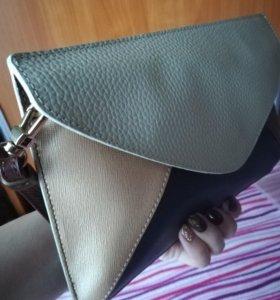 Кожаная сумка Domani. Оригинал