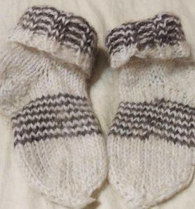 Носки шерсть 11-13см