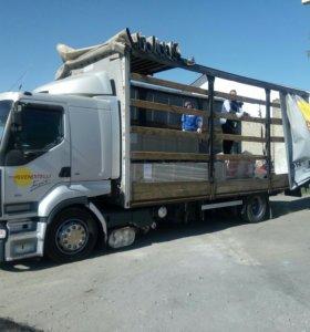 Грузовые перевозки до 10 тонн 53 куб