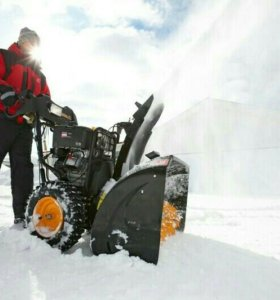 Снегоуборочная машина. Новая.