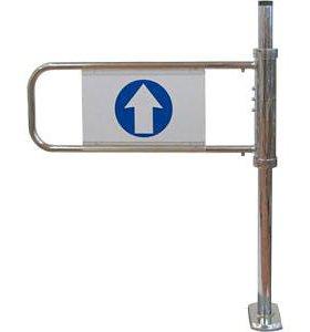 Механические ворота, флажок, правый