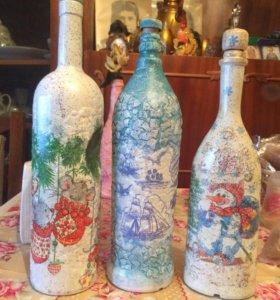 Купажированые бутылки