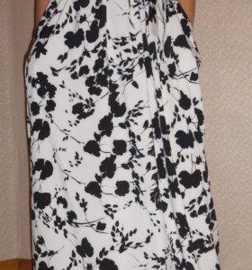 Новое длинное платье на Новый год
