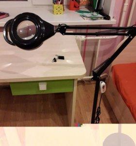 Лампа -лупа для косметологов