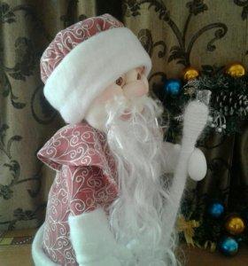 Дед мороз.интерьерная кукла