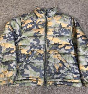 Куртка для мальчика камуфляж Манго