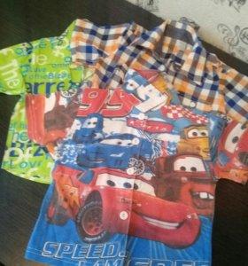 Рубашки на 3-5 лет