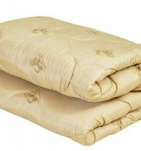 Одеяло Овечья шерсть 1,5 сп новое