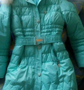 Женский пуховик, зимнее пальто.