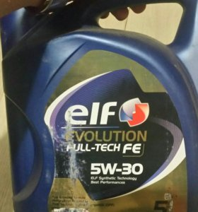 Масло моторное ELF Evolution Full Tech FE 5W30
