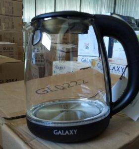 Электрочайник стеклянный новый Galaxy GL0550