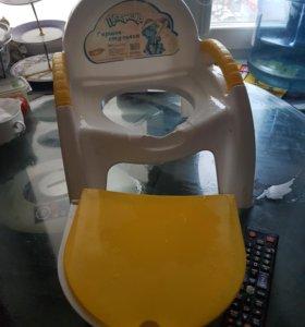 Детский горшочек-стульчик