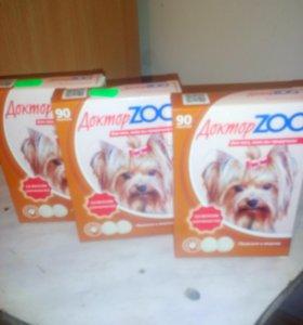 Общеукрепляющие витамины Доктор Zoo для собак
