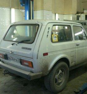 Продаётся ВАЗ 21213 1997г по запчастям.