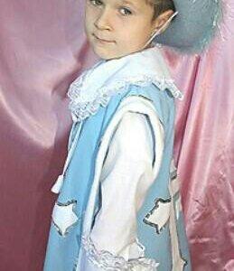 Новогодний карнавальный костюм мушкетер