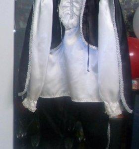 Новогодний костюм Зорро