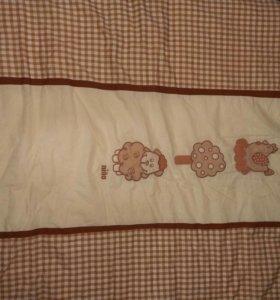 Комплект бортики + одеяло