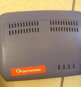 ADSL роутер Домолинк
