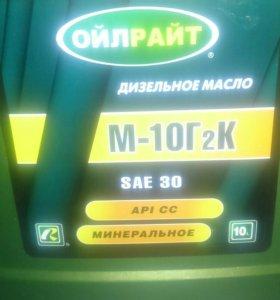 Дизельное масло М-10Г2К