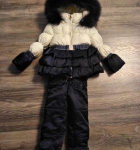 зимний комплект(куртка+брюки)
