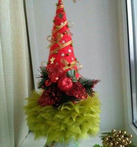 Новогодний сувенир-елочка