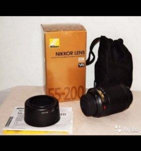 Nikon Lens AF-S DX Zoom Nikkor 55-200mm f 4-5.6G E