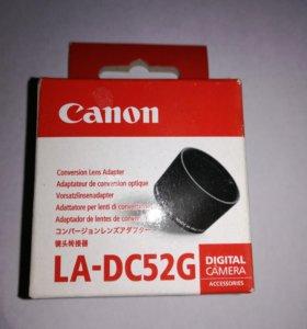 Адаптер для линз Canon LA-DC52G