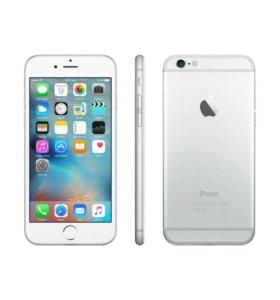 iPhone 6 16gb серебристый