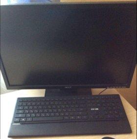 Компьютер ( монитор, системный блок, клавиатура)