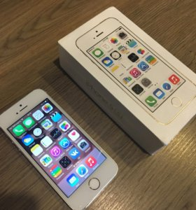 iPhone 5S gold телефон 16 гб