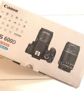 Canon EOS 600D kit 18-55 + kit 55-250