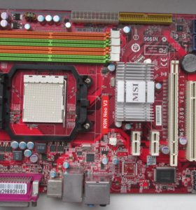 MSI K9N Neo V3 (АМ2)