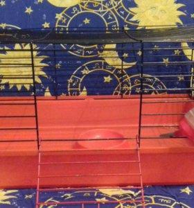 Клетка для морских свинок,декоративных кроликов.