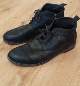Ботинки зимние 42р, кожаные