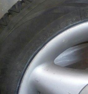 Зимние колёса на ваз
