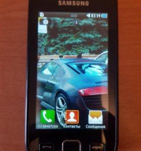 Samsung GT-S5250 + чехол