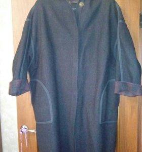 Драповое пальто, 52-54
