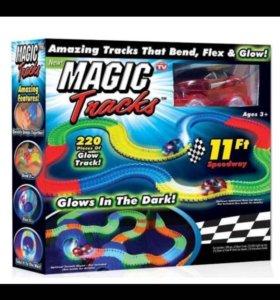 Гоночная трасса Magic Track 220деталей