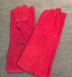 Защитные перчатки для сварщиков