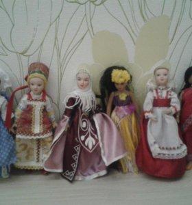 фарфоровые куклы (с журналами)
